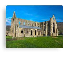 Tintern Abbey, Monmouthshire, Wales Canvas Print
