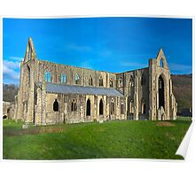 Tintern Abbey, Monmouthshire, Wales Poster