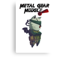 Metal Gear Moogle Canvas Print