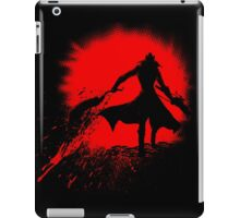 Born from blood iPad Case/Skin