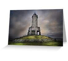 Darwen Tower - Lancashire Greeting Card