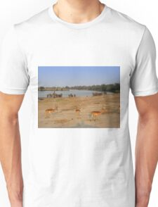 Elephants and Impala, Botswana T-Shirt