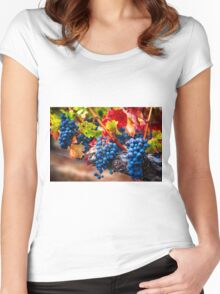 Fruit of Napa Valley I Women's Fitted Scoop T-Shirt