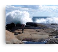 Bursting Waves Canvas Print