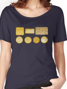 Savoury Biscuits and Crackers Women's Relaxed Fit T-Shirt