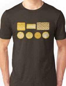 Savoury Biscuits and Crackers Unisex T-Shirt