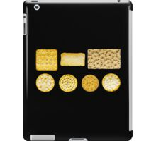 Savoury Biscuits and Crackers iPad Case/Skin