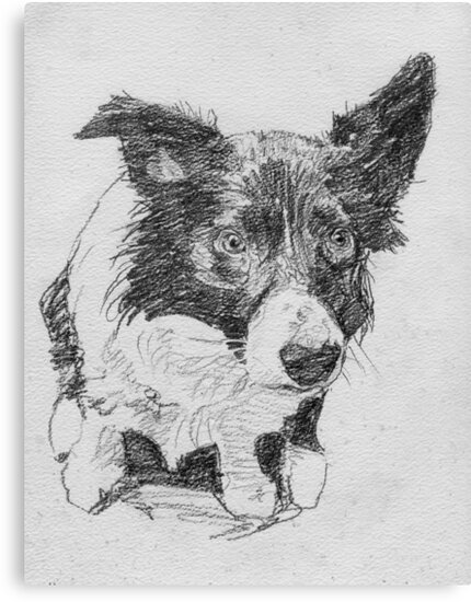 Pencil study of Young Indy by Michael Haslam