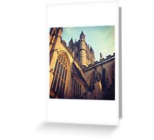 Bath Abbey Greeting Card