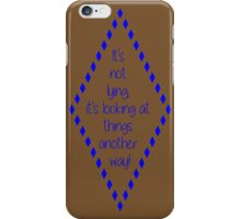 Fiyero v. 2 iPhone Case/Skin