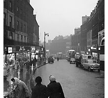 1950s Leith Street, Edinburgh Photographic Print