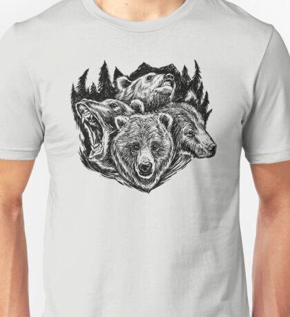 Four Bears Unisex T-Shirt
