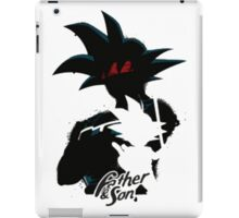 Father and son Dragon Ball Z iPad Case/Skin