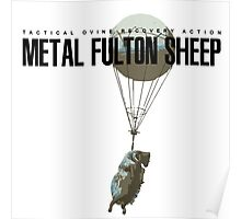 METAL FULTON SHEEP Poster