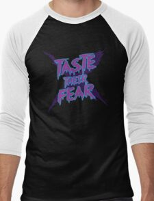 Taste Their Fear Men's Baseball ¾ T-Shirt