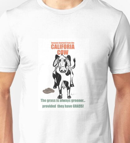 Lessons Learned from the California Cow Unisex T-Shirt