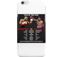 Tale Of The Tape iPhone Case/Skin