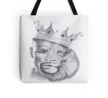 Lion Mayweather Tote Bag