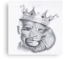 Lion Mayweather Canvas Print