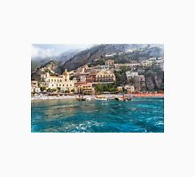 Positano Beach From the Sea Unisex T-Shirt