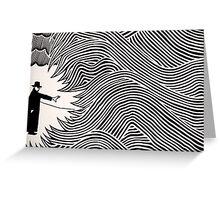 eraser Greeting Card