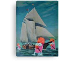 Beaker Bay Canvas Print