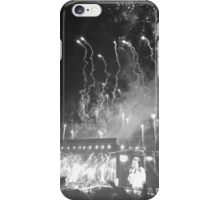 WWA Philly 8/13 Fireworks B&W iPhone Case/Skin