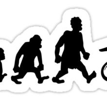 motorcycle motocross trial enduro darwin evolution moto Sticker