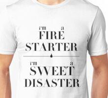 fire starter // sweet disaster Unisex T-Shirt