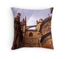 Cathedral Sevilla 1 Throw Pillow