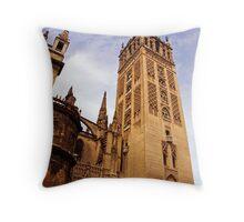 Cathedral Sevilla 2 Throw Pillow