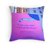 See you at the Plaza Throw Pillow