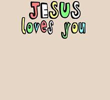 JESUS LOVES YOU Womens T-Shirt