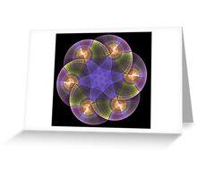 Discs Greeting Card