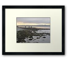 Golden Grey: The Sun Sets On Ireland: Co. Clare Framed Print