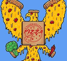 United States Of Pizza by Harry Fitriansyah