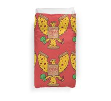 United States Of Pizza Duvet Cover