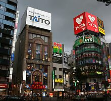 Downtown Akihabara by dronegc