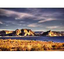 Lake Powell Harbor at Sunrise Photographic Print