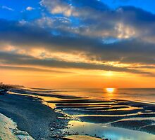 Cleveleys Sunset by David Bradbury