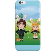 Easter Boy and Girl iPhone Case/Skin