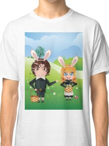Easter Boy and Girl Classic T-Shirt