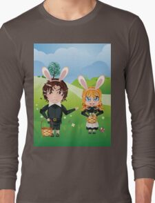 Easter Boy and Girl Long Sleeve T-Shirt