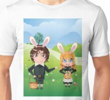 Easter Boy and Girl Unisex T-Shirt