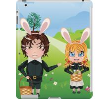 Easter Boy and Girl iPad Case/Skin
