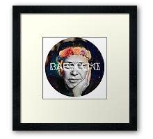 Steve Baescemi Framed Print