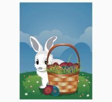 Easter Bunny with Eggs in the Basket 2 Kids Clothes