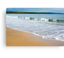 ballybunion beach near the cashen estuary Canvas Print