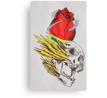 tattoo designs on items rather than skin Canvas Print