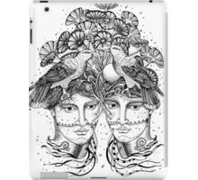 Gemini for colour backgrounds iPad Case/Skin